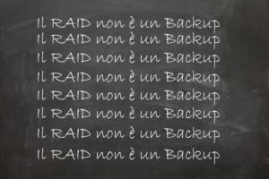 raid no backup